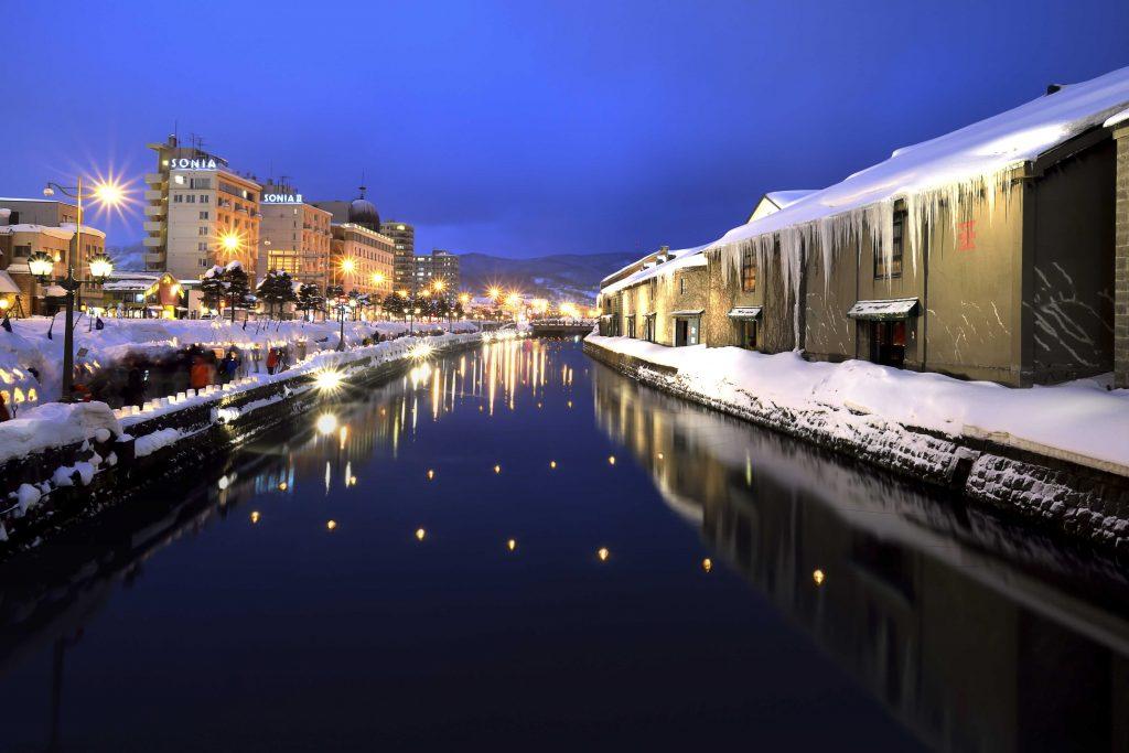 日本北海道小樽運河