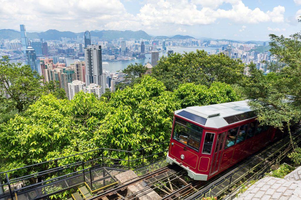中國 港澳|沒去過這8大景點,就不算去過香港、澳門! 中國 港澳 太平山頂Victoria Peak 1