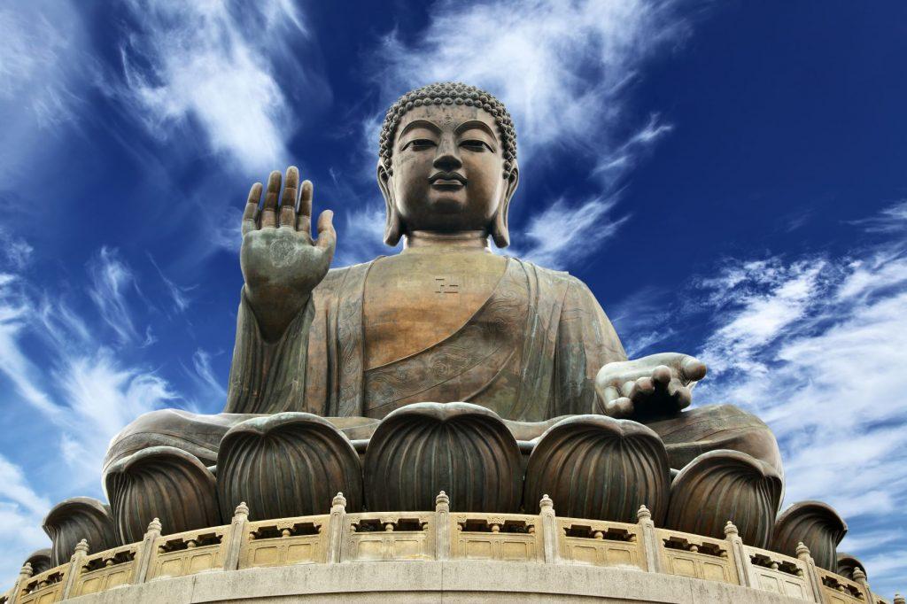 中國 港澳|沒去過這8大景點,就不算去過香港、澳門! 中國 港澳 寶蓮寺Po Lin Monastery 天壇大佛
