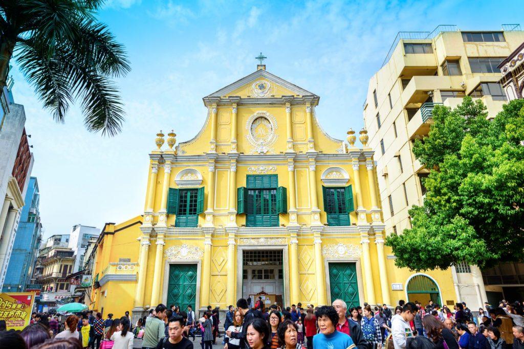 中國 港澳|沒去過這8大景點,就不算去過香港、澳門! 中國 澳門 玫瑰聖母堂 Church of Our Lady of the Rosary Macau 1
