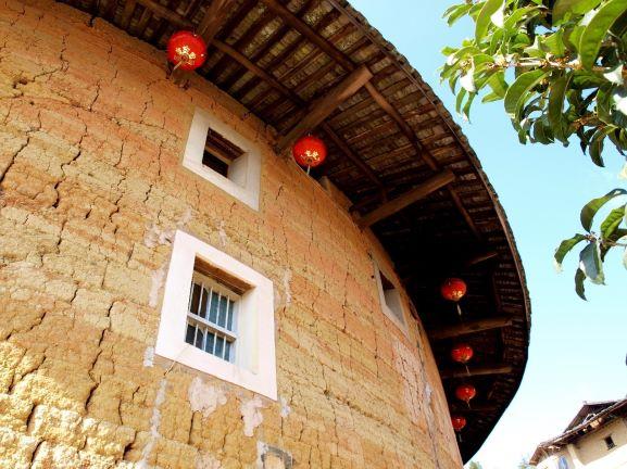 【福建土樓】世界第1奇樓,上天掉落的巨大甜甜圈建築!又被稱為「四菜一湯」! 中國 福建土樓Fujian Tulou 7 2