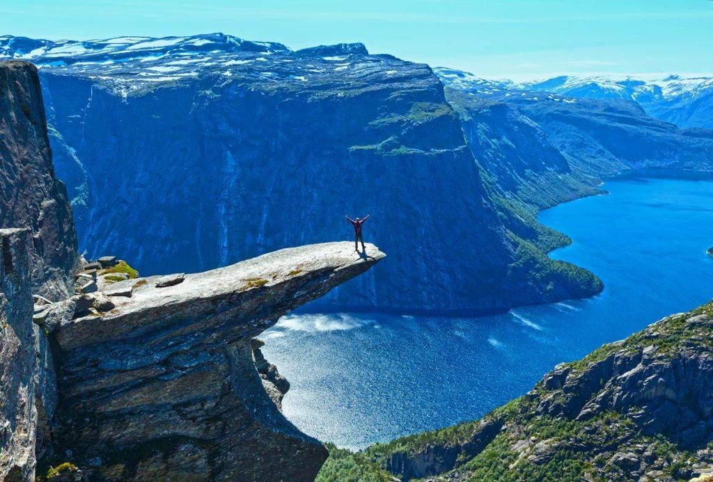 挪威奇緣,挪威旅遊絕不能錯過的10大景點 挪威 巨人之舌