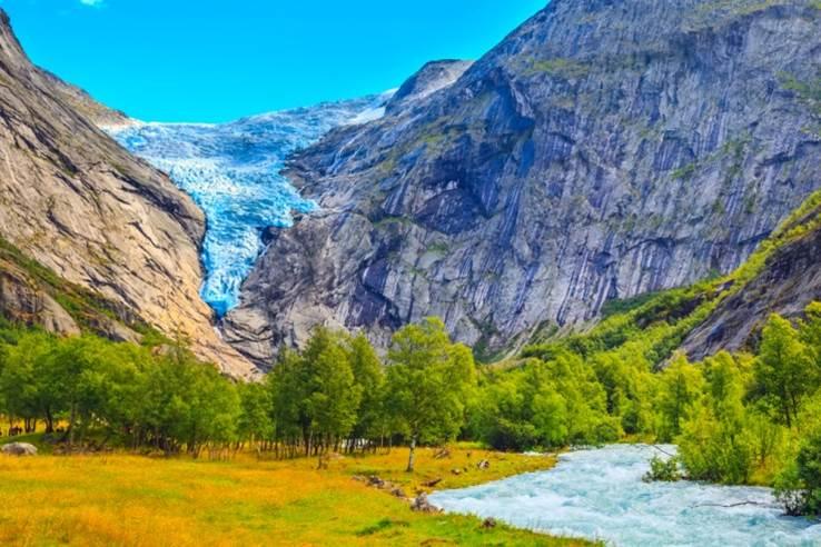 挪威奇緣,挪威旅遊絕不能錯過的10大景點 挪威 布利斯達冰河 1