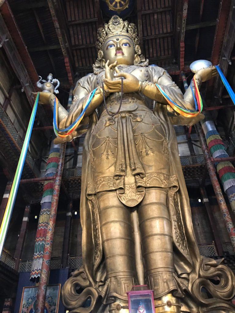 走吧壯遊去!山和雲的彼端 - 蒙古旅遊懶人包 甘丹寺 1