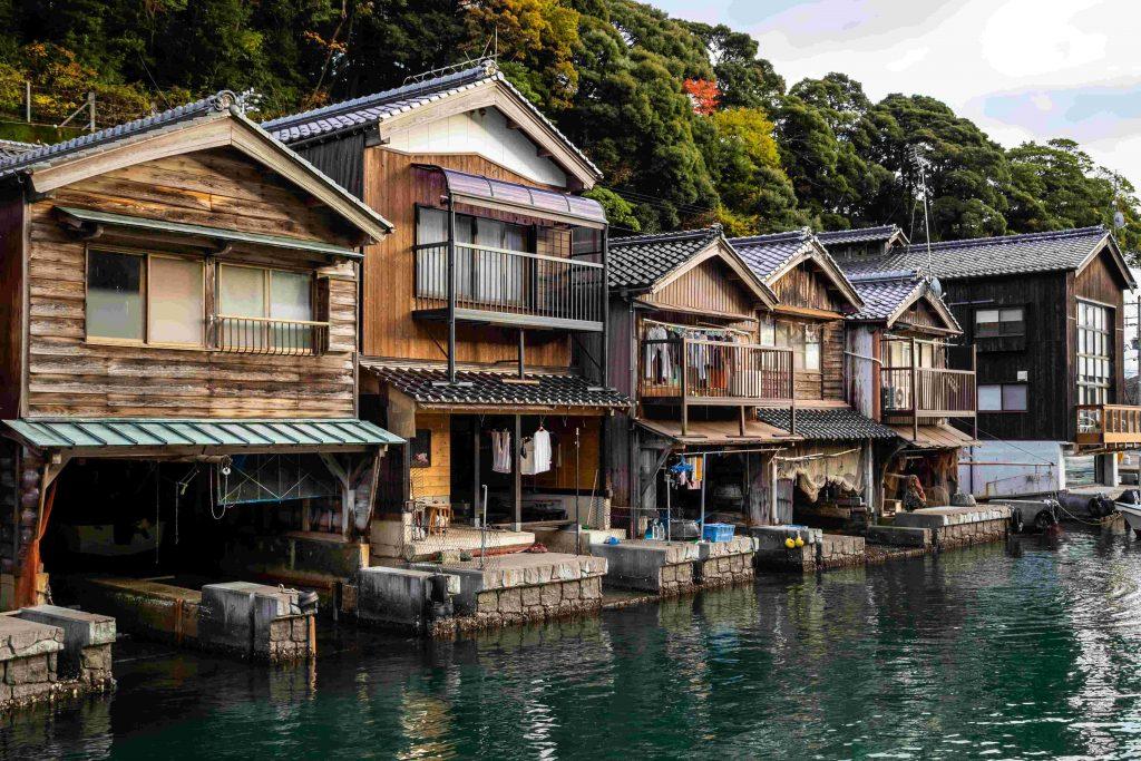 京都-伊根舟屋