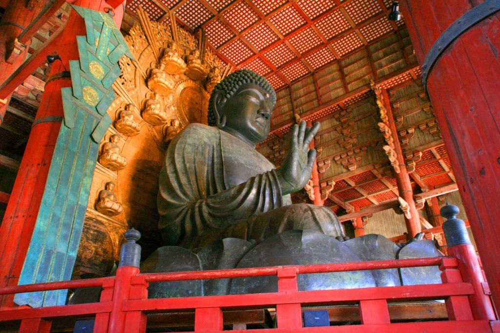 日本東大寺-奈良大佛