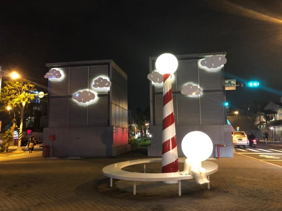 【台南】5大必吃美食&化身小文青的文創聚落! 高雄Kaohsiung 海安路街道美術館 3 1