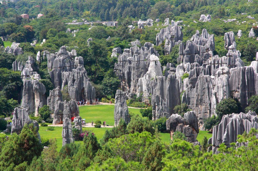 中國雲南 | 大自然賦予的4寶奇觀,山、林、水、洞 2 2