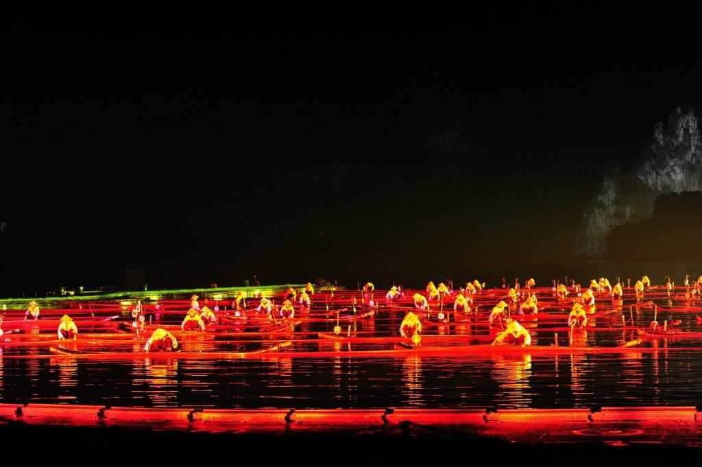 中國 桂林 印象劉三姐|壯麗山水實境大秀