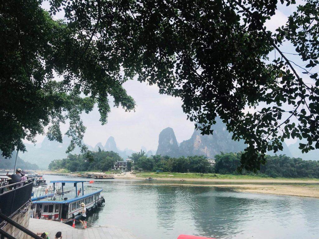 中國 桂林|興坪碼頭