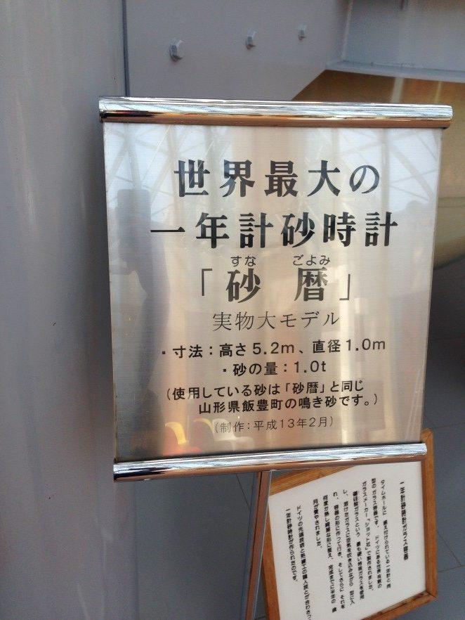 日本 島根|【仁摩砂之博物館】全世界最大的砂曆,一次計算一年 日本 人摩砂之博物館 Nima Sand Museum 3 rotated