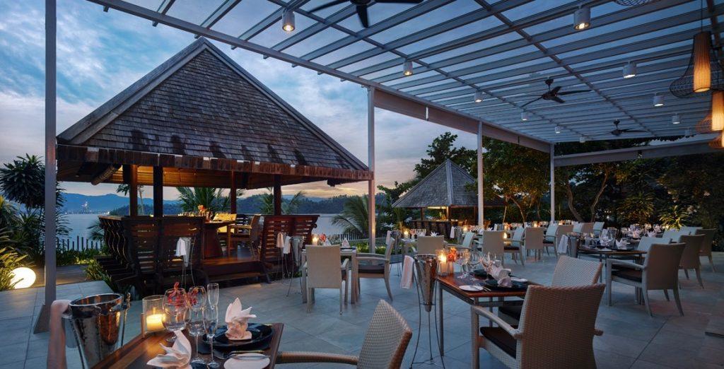 馬來西亞_沙巴綠中海_戶外餐廳