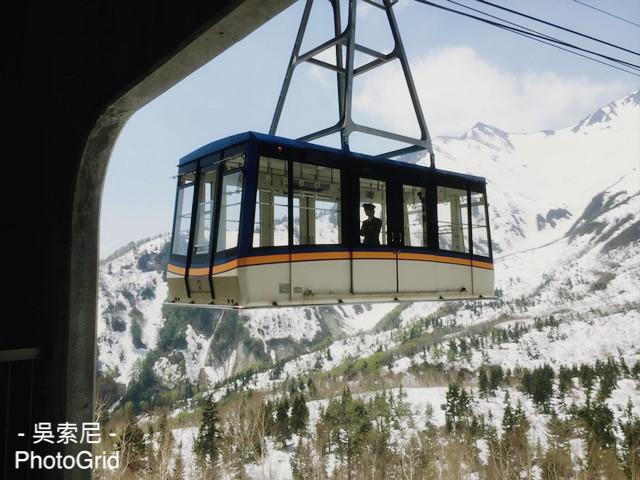 日本北陸 | 超震撼!黑部立山雪牆奇景,一次體驗6種交通工具 日本北陸 japan 黑部立山 Tateyama Kurobe Alpine Route 立山空中纜車