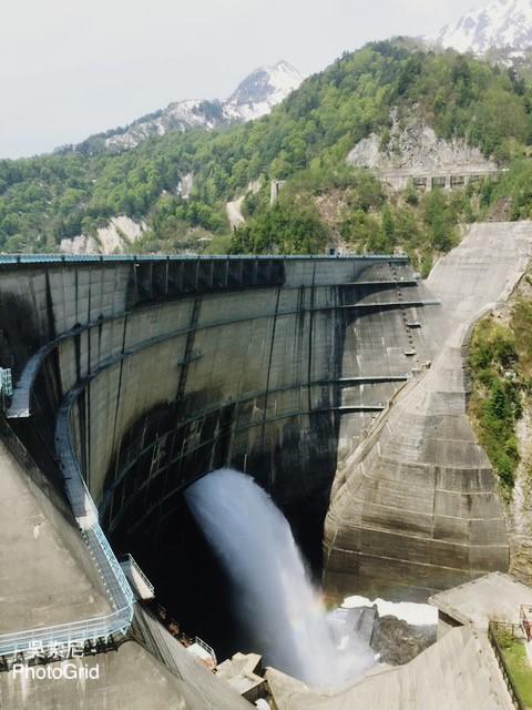 日本北陸 | 超震撼!黑部立山雪牆奇景,一次體驗6種交通工具 日本北陸 japan 黑部立山 Tateyama Kurobe Alpine Route 黑部水庫 3