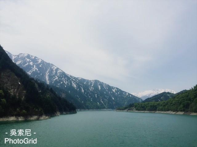 日本北陸 | 超震撼!黑部立山雪牆奇景,一次體驗6種交通工具 日本北陸 japan 黑部立山 Tateyama Kurobe Alpine Route 黑部水庫 7
