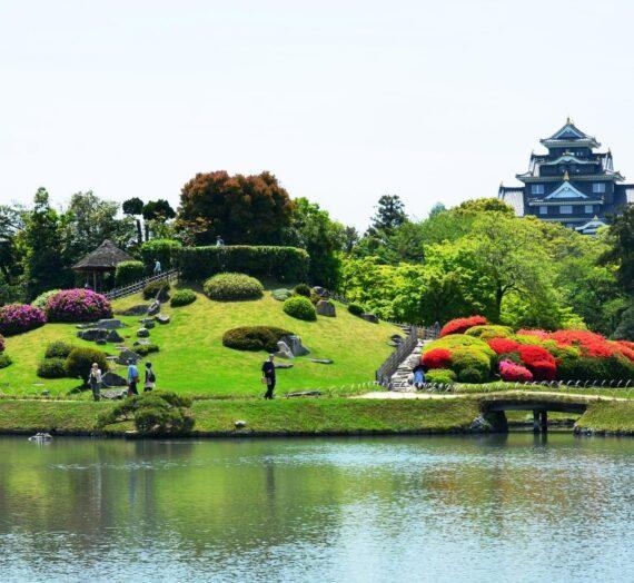 日本四國 | 3大名園的岡山後樂園,一覽江戶庭園風貌!