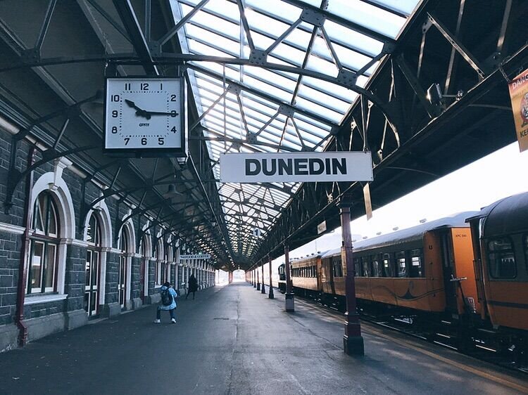 【紐西蘭南島】精選10大必玩必吃!出發但尼丁、提卡波湖、皇后鎮! 紐西蘭 New Zealand 但尼丁但尼丁車站 Dunedin Railway Station