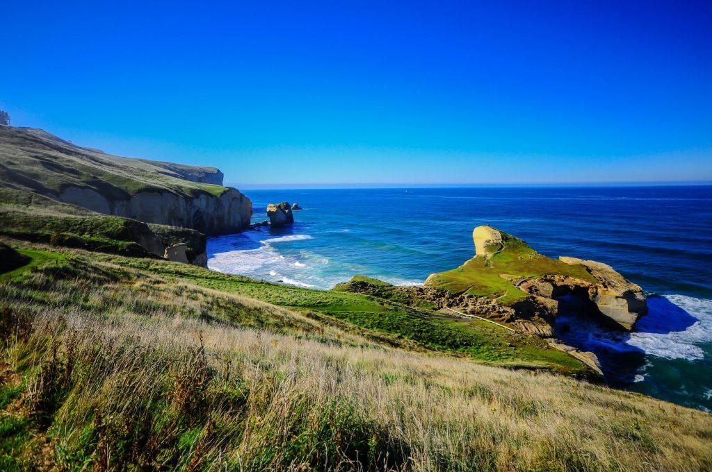 【紐西蘭南島】精選10大必玩必吃!出發但尼丁、提卡波湖、皇后鎮! 紐西蘭 New Zealand 但尼丁-隧道海灘Tunnel beach
