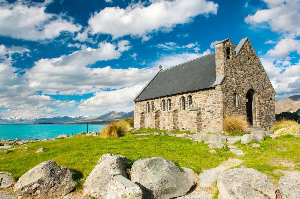 【紐西蘭南島】精選10大必玩必吃!出發但尼丁、提卡波湖、皇后鎮! 紐西蘭 New Zealand 牧羊人教堂Church of the good Shepherd 1