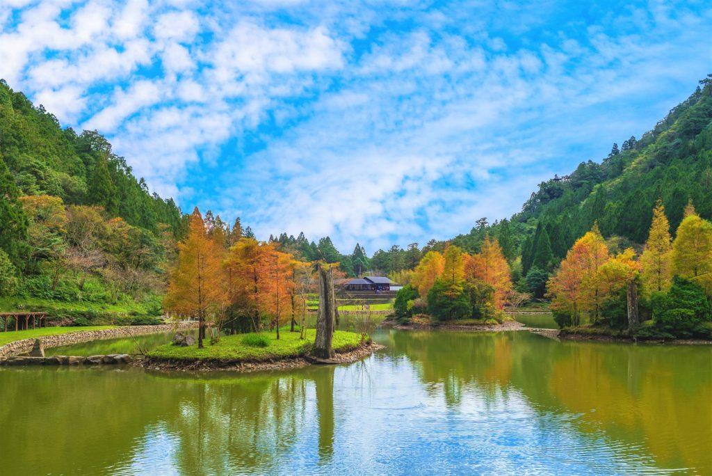 全台賞楓攻略1|北部秋季必去的楓紅景點與落羽松秘境大公開! 全台賞楓 宜蘭 明池湖 1