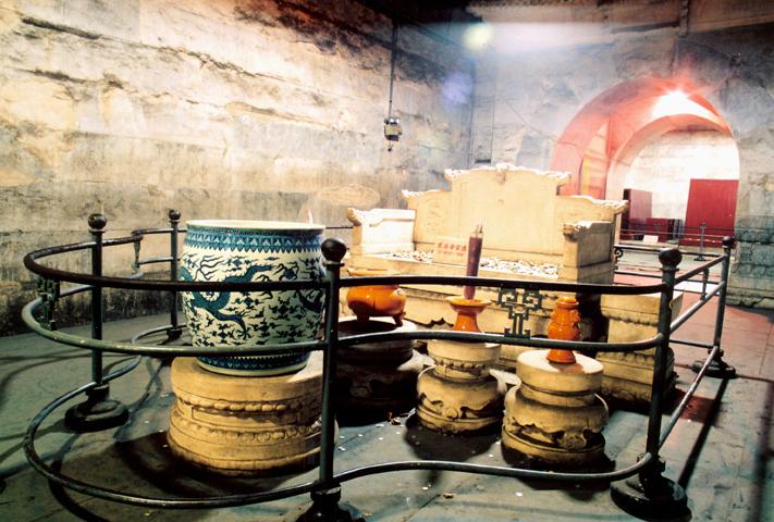 中國 華北|北京5大必遊的歷史古蹟名城! 十三陵地宫 Underground Palace in Ming Tombs