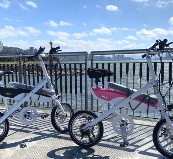 iMiró  SIVRAC 摺疊電動輔助自行車-25KM淡水金色水岸1日騎行|山富旅遊