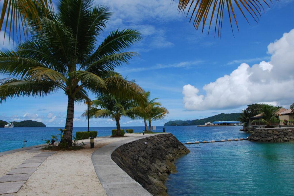 帛琉是世界知名的度假天堂