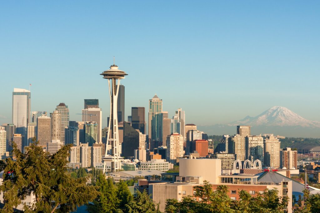 美國|洛杉磯、舊金山、夏威夷度假勝地、美景世界級的國家公園.美西必訪的10大景點 美國 西雅圖 shutterstock 182916263