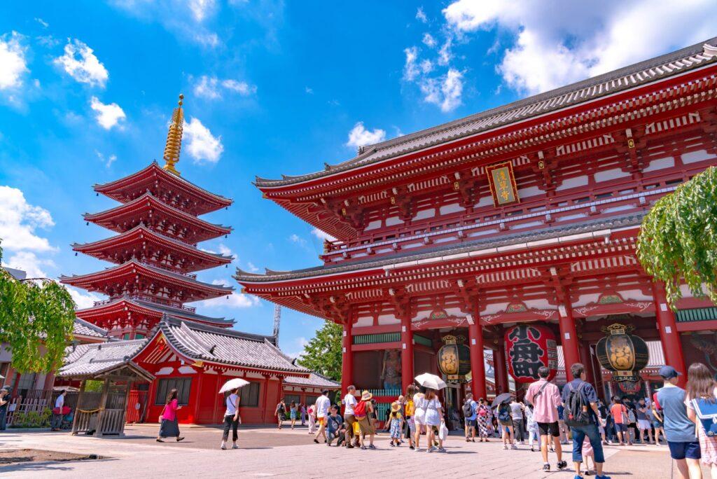 日本 東京|7大必遊景點,吃喝玩樂通通有!旅遊行程、自由行就醬安排 日本 東京 淺草