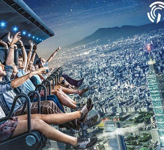 台北i-Ride TAIPEI 飛行劇院|5D身歷其境的飛行旅程